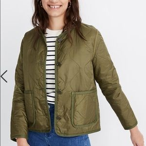 Madewell Quilted Liner Jacket size small